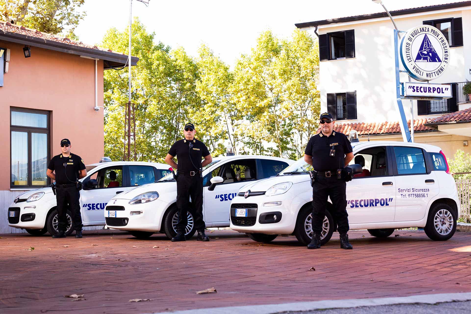 Securpol - Servizi - Pattugliamento e Ronde - Frosinone